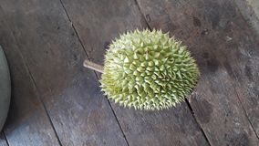 Comida que sorprende del Durian fotografía de archivo libre de regalías