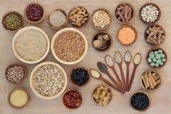 Comida sana de la dieta macrobiótica fotografía de archivo libre de regalías