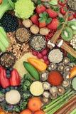 Comida sana de la dieta para el Detox del h?gado fotos de archivo