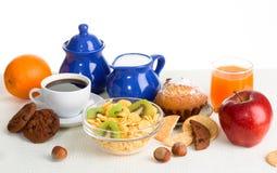 Comida sana de la mañana Fotografía de archivo