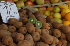 Comida sana del kiwi Imágenes de archivo libres de regalías