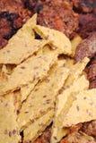 Comida sana muy cercana, amarilla - macro foto de archivo