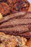 Comida sana muy cercana, rojo oscuro - macro fotos de archivo libres de regalías