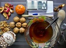 Comida sana, natural para la aptitud imagen de archivo libre de regalías