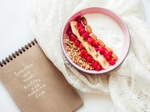 Comida sana y deliciosa Fotografía de archivo libre de regalías