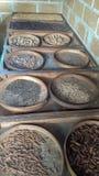 Comida secada asiática imagen de archivo