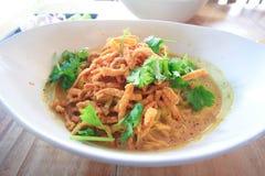 Comida septentrional tailandesa Fotografía de archivo libre de regalías