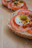 Comida simple, sana y nutritiva Imágenes de archivo libres de regalías