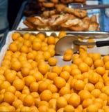 Comida tailandesa de la calle Foto de archivo libre de regalías
