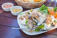 Comida tailandesa de la cocina Imagen de archivo libre de regalías