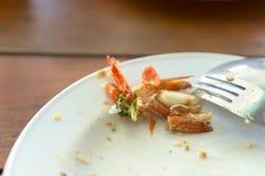 Comida tailandesa de sobra Fotografía de archivo
