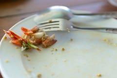 Comida tailandesa de sobra Fotos de archivo libres de regalías