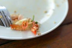 Comida tailandesa de sobra Imagen de archivo