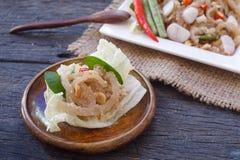Comida tailandesa del aperitivo llamada Fotografía de archivo libre de regalías