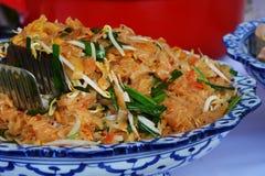 Comida tailandesa del cojín Imágenes de archivo libres de regalías