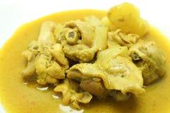 Comida tailandesa: El curry del pollo Imagen de archivo