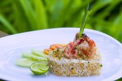 Comida tailandesa en un hotel de lujo fotos de archivo libres de regalías