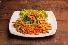Comida tailandesa mezclada Fotografía de archivo