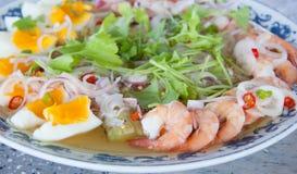 Comida tailandesa moderna Imagenes de archivo