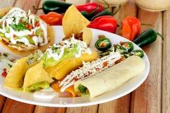 Comida tradicional mexicana imagenes de archivo