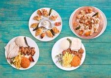 Comida tradicional turca Fotos de archivo