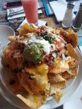 Comida Vegas delicioso de los Nachos Fotos de archivo libres de regalías
