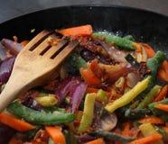 Comida vegetal Fotografía de archivo libre de regalías