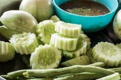 Comida vegetal para todos Foto de archivo libre de regalías