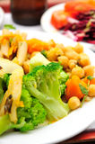 Comida vegetariana Foto de archivo