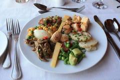 Comida vegetariana Imagen de archivo