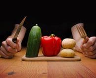 Comida vegetariana Fotografía de archivo