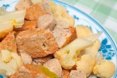Comida vegetariana sana Fotografía de archivo libre de regalías