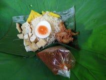 Comida vieja Thaiand y naturaleza Foto de archivo libre de regalías