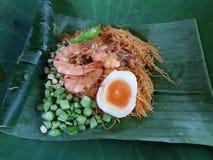 Comida vieja Thaiand y naturaleza Fotos de archivo