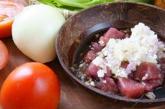 Comida vietnamita, laca de BO Lucas, carne de vaca Imagen de archivo libre de regalías