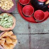 Comida vietnamita, Tet, atasco, Año Nuevo lunar de Vietnam Fotos de archivo