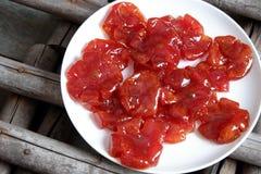 Comida vietnamita, Tet, atasco del tomate, consumición dulce Imagen de archivo