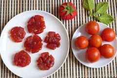 Comida vietnamita, Tet, atasco del tomate, Vietnam tradicional Imagenes de archivo