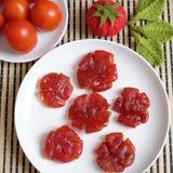 Comida vietnamita, Tet, atasco del tomate, Vietnam tradicional Foto de archivo libre de regalías
