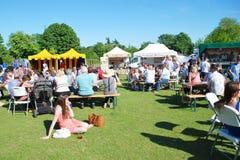 Comida y festival de la bebida, Kent Fotos de archivo libres de regalías