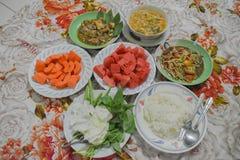 comida y fruta Fotos de archivo libres de regalías