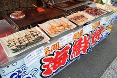 Comidas de la calle en Japón Fotos de archivo libres de regalías
