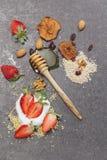 Comidas de la mañana del desayuno fotografía de archivo
