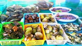 Comidas de mar Imagen de archivo libre de regalías
