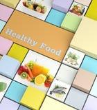 Comidas sanas Imagen de archivo libre de regalías