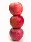 Comidas sanas de Apple Foto de archivo libre de regalías