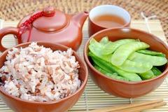 Comidas vegetarianas sanas. Imagen de archivo libre de regalías
