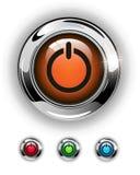 Comience el icono, botón libre illustration