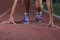 Comience la corrida Fotos de archivo