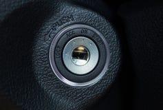 Comience la ignición del coche Imagenes de archivo